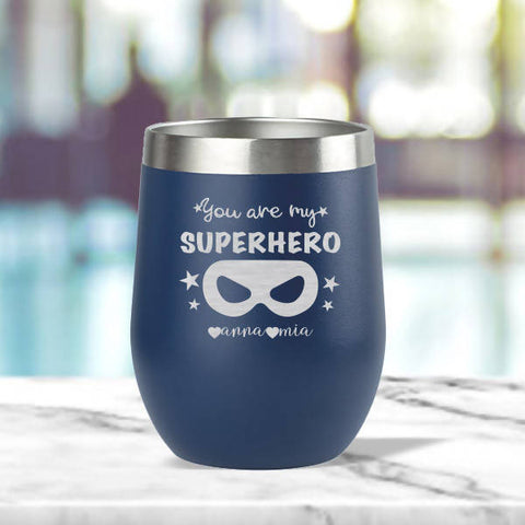 'SUPERHERO' Insulated Tumbler (12oz)