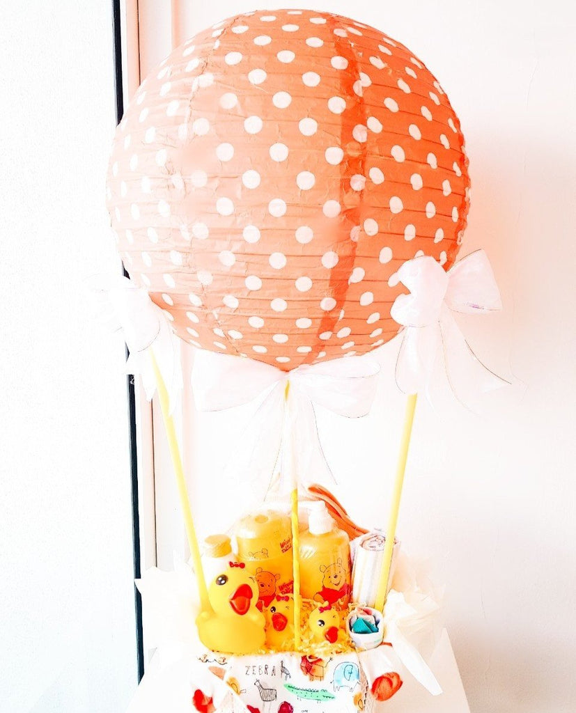 Up Up and Away Hot Air Balloon Baby Gift Set