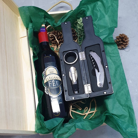 Wine Set Grand Opening House Warming Gift Set with Tools (Nationwide Delivery)