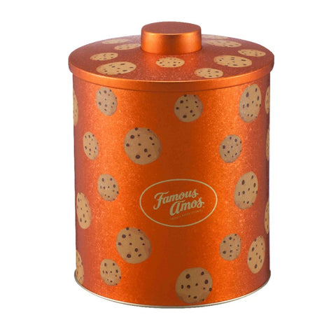 Famous Amos Cookie Barrel Tin  (4 Flavours) 360g
