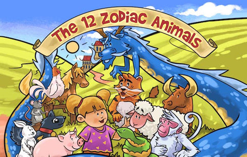 Personalised Book For Kids - The 12 Zodiac Animals