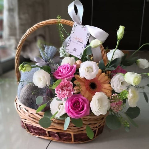 Get Well Fruits & Flowers Basket 3