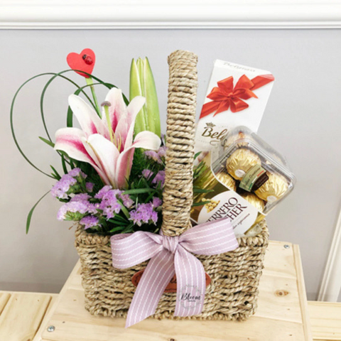 Chocolate Basket 08 (Kuala Lumpur Delivery Only)