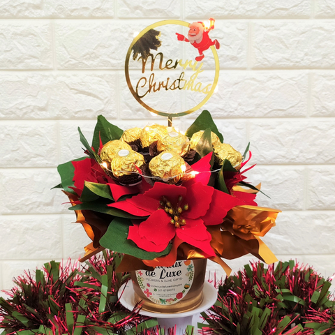 Holly Jolly Ferrero Rocher & Pot Gift Set