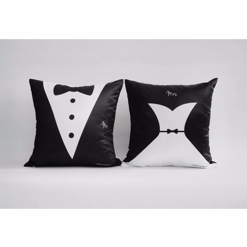 Bride and Groom Cushions by ATD (Pre-order 2-4 weeks)