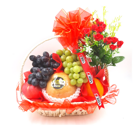 Blessing Fruit Basket - Signature (7 Types of Fruits)