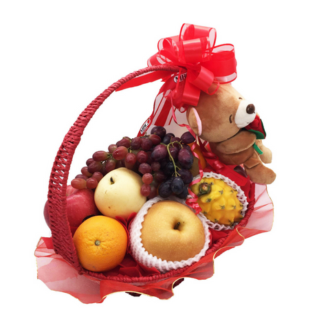 Loving Fruit Basket - Lively (9 Types of Fruits)