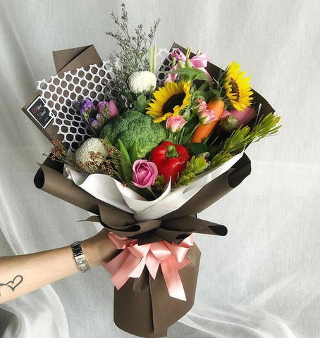Veggie Lover Vegetable Bouquet (Ipoh Delivery Only)