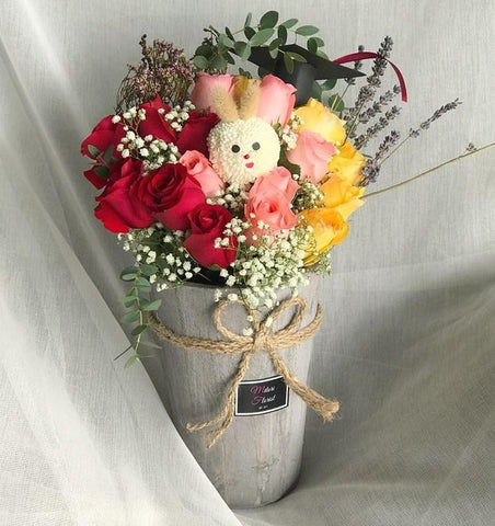 Country Garden Bouquet (Ipoh Delivery Only)