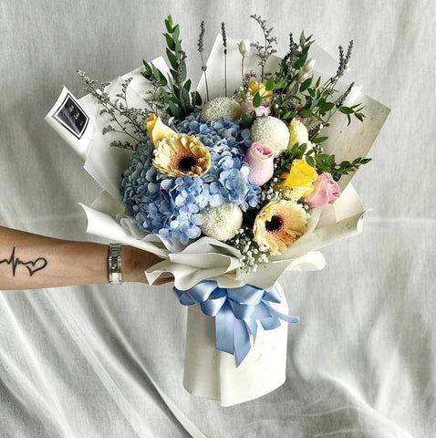 Spring Scents Hydrangea Bouquet (Ipoh Delivery Only)