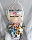 Hot Air Balloon ' with Mixed Flowers (Ipoh Delivery Only)
