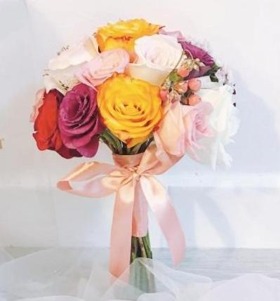 Bridal Bouquet - Happiness
