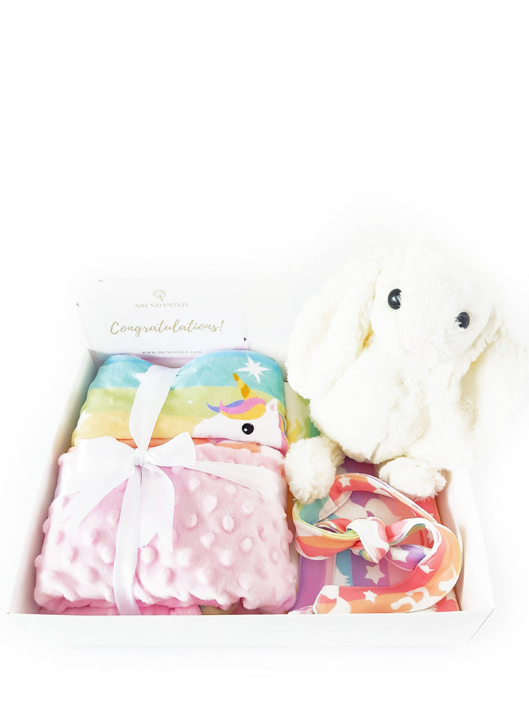 Unicorn Baby Gift Box (Klang Valley Delivery Only)