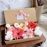 Gerbera Eustoma Flower Box