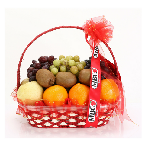 Deluxe Fruit Basket (10 Types of Fruits)