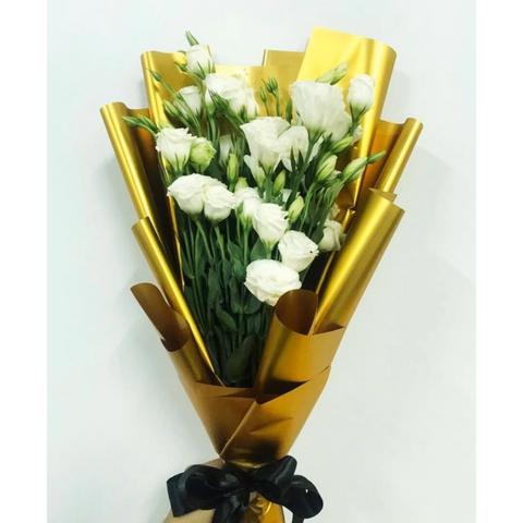 Eustoma Flowers Bouquet