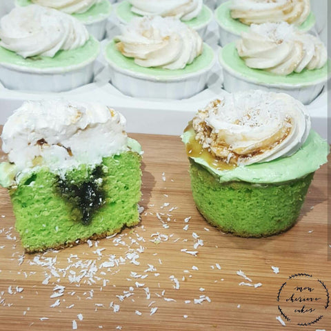 Ondeh-Ondeh Cupcakes