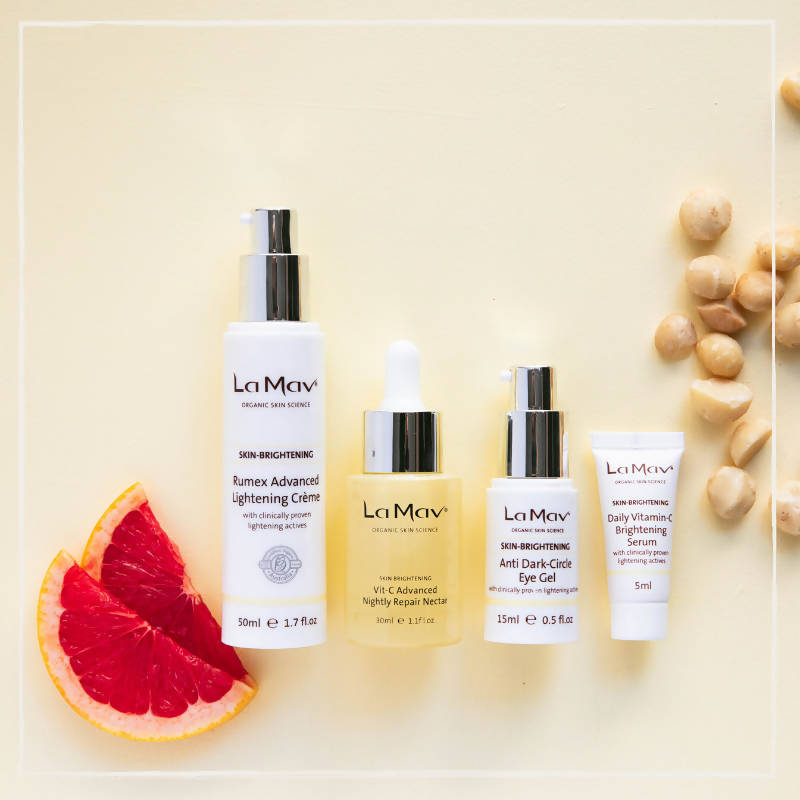 Organic Brightening Collection by La Mav