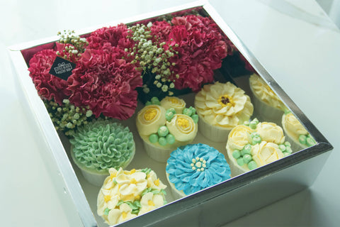 Mother's Day Flower Overdose with Floral Cupcakes