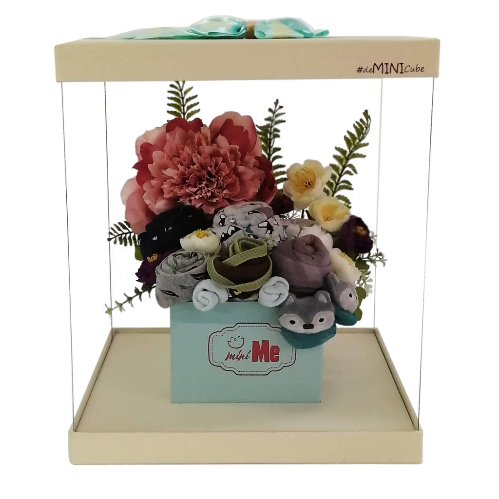 100 Days Gift Bouquet for New Born Baby Boy - HDB 003