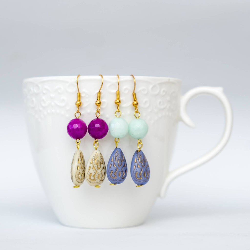Japanese Beads Earring #6 & #7 (Set of 2)