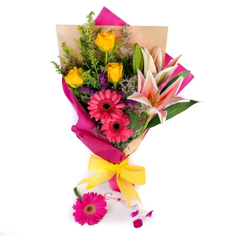 Mixed Flowers Bouquet | Giftr - Malaysia\'s Leading Online Gift Shop