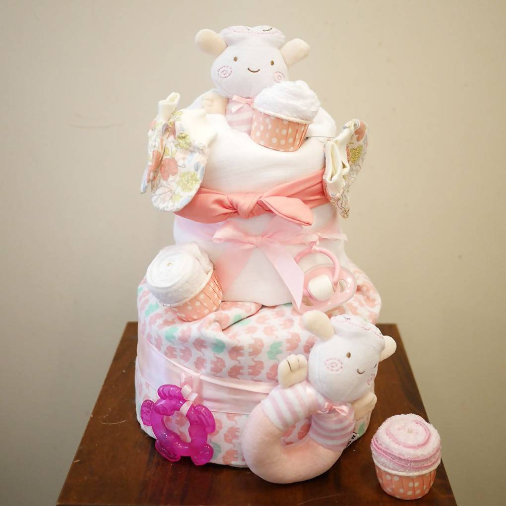 New Beginnings Nappy Cake (Penang Delivery only)