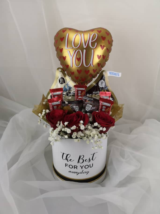 Chocolate Roses Box (Valentine's Day 2019)