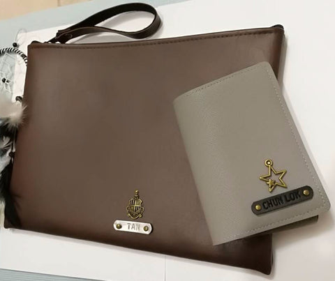 Personalised Ipad Cover & Passport Holder