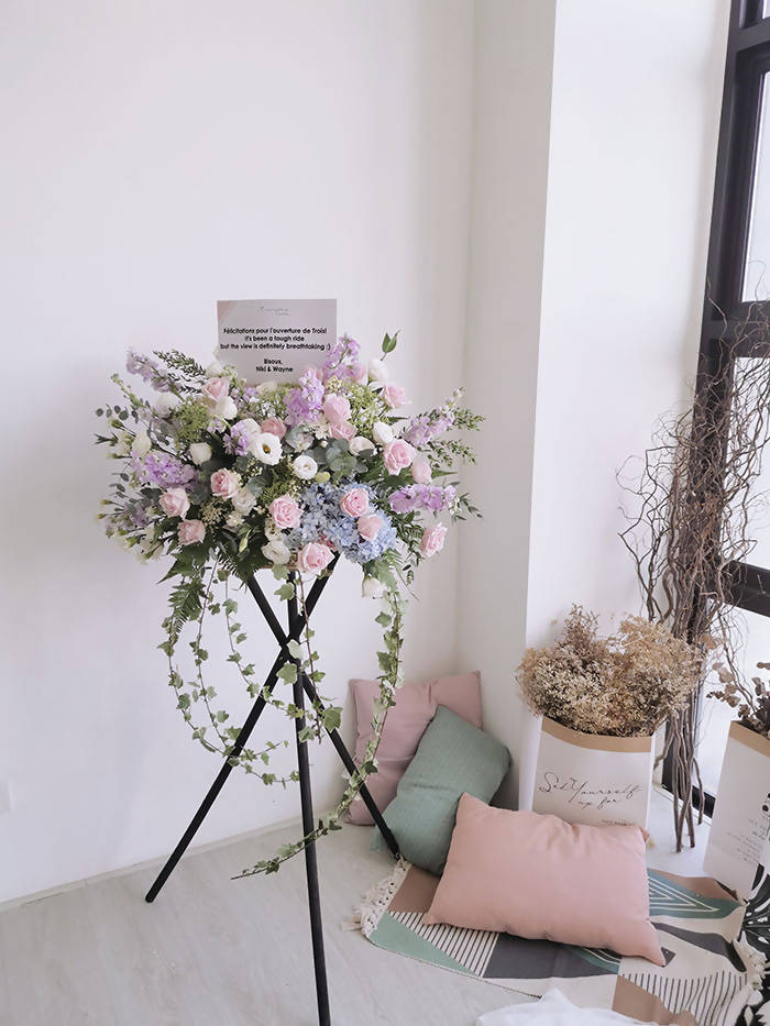 Grand Opening Flower Stand (Pastel colour)