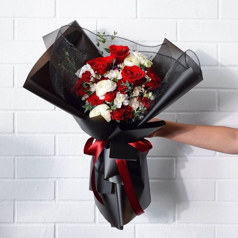 Red Velvet Flower Bouquet