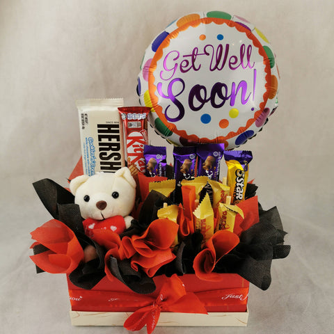 Chocolate Balloon Toy Gift Box 56