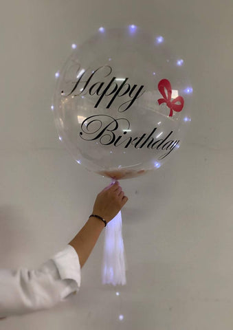 Clear Balloon LED set