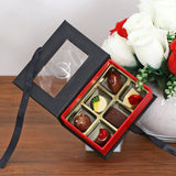 Chocolate Truffles & Pralines (6 pcs) Premium Hard Box
