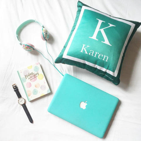 Personalised Two-Tone Cushion (Pre-order 2 to 4 weeks)