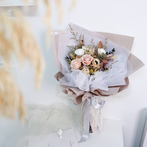 Elegant Preserved Flower Bouquet Large