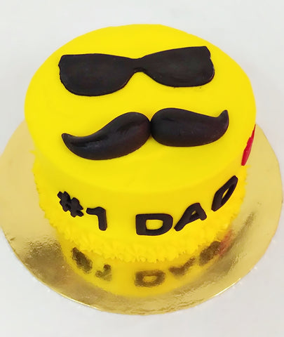 Cool Dad Design Father's Day Cake