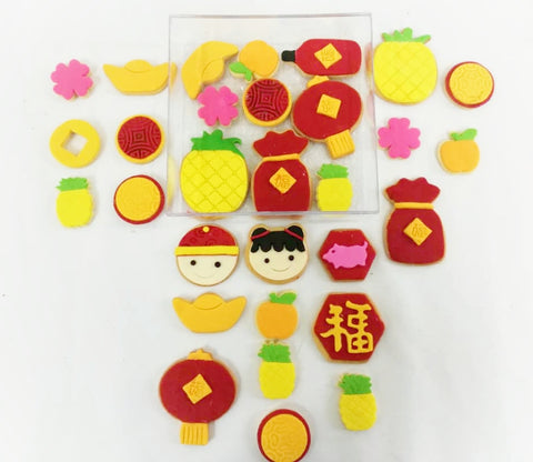 CNY 2019 Fondant Butter Cookies