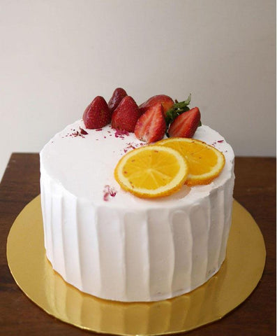 Korean Strawberry Fruit Cake (Penang Delivery only)