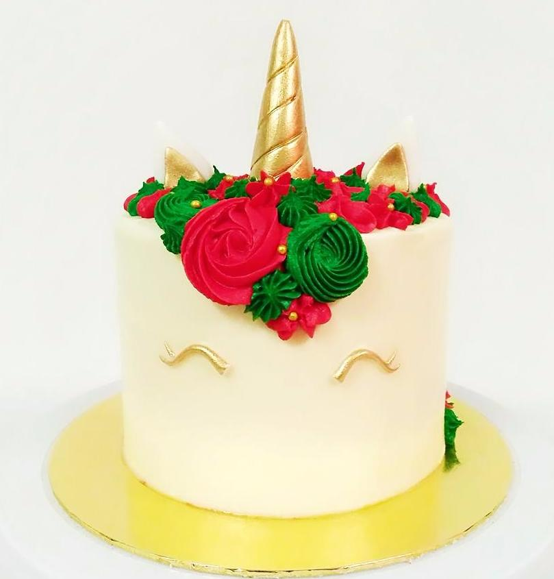 Christmas Corn Buttercream Cake (Christmas Special)