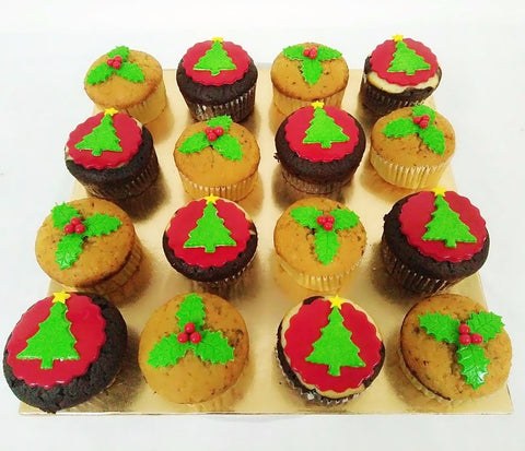 Christmas Tree Muffins (Christmas Special)
