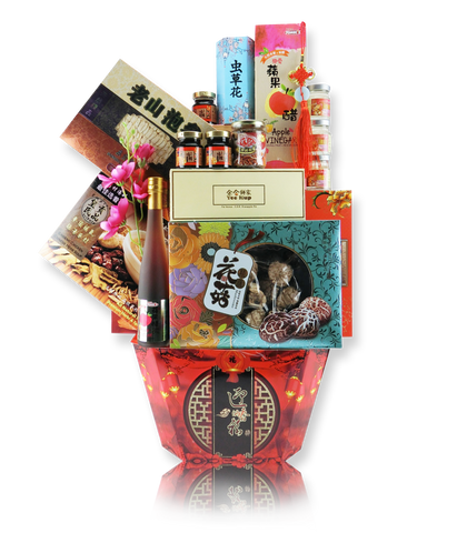 CNY Empire Hamper 299 忠孝双全 - Chinese New Year 2019 (Free Delivery to Klang Valley)