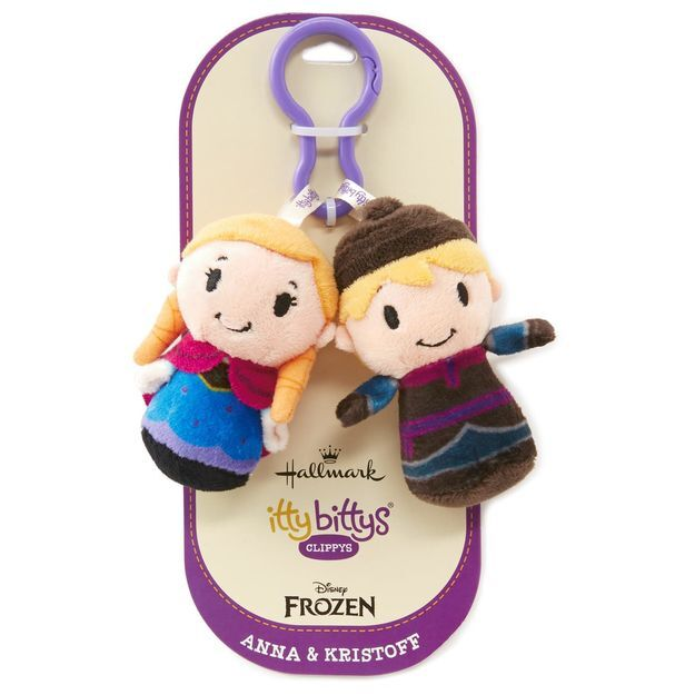 Itty Bitty® Clippy Anna & Kristoff