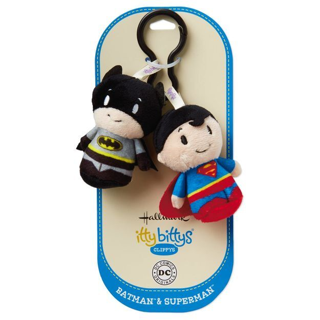 Itty Bitty® Clippy Batman & Superman