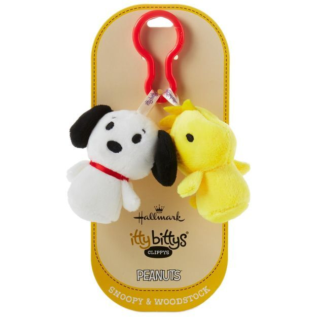 Itty Bitty® Clippy Snoopy & Woodstock