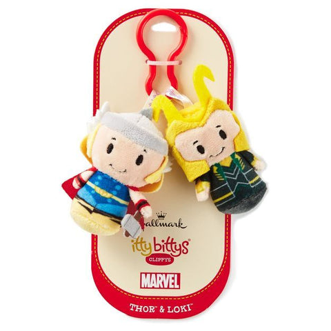 Itty Bitty® Clippy Thor & Loki