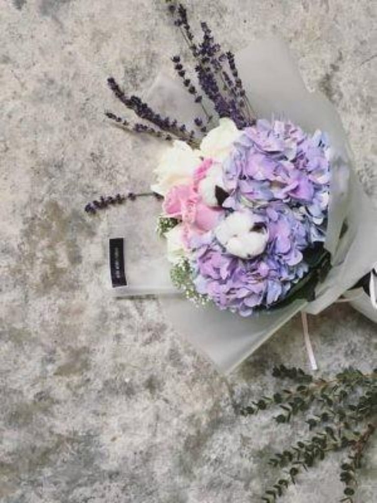Mixed Flower & Lavender Bouquet