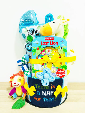 SET C Baby Boy Diaper Cake (Nationwide Delivery)