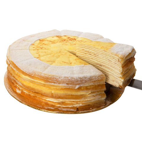 Cheesy Cheese Mille Crepe