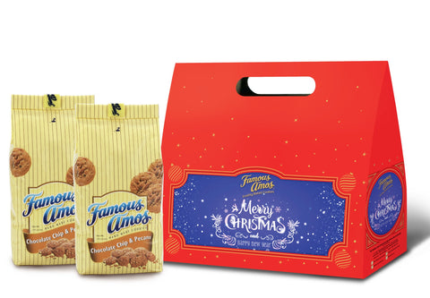 [5-Day Exclusive Promo] Famous Amos Exclusive Christmas Twin Pack